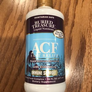 ACF Fast Relief with Elderberry SKU=016055345744