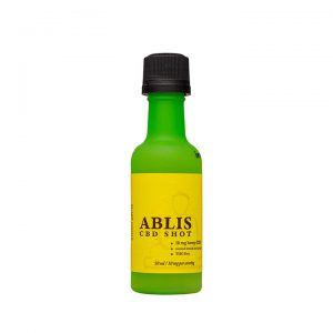 Ablis CBD Shot 10mg Lemon Ginger SKU 854016006057