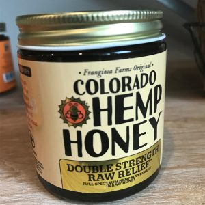 Colorado Hemp Honey Double Strength Raw Relief 1000mg SKU=853043007242