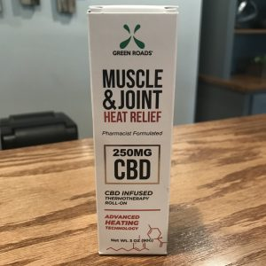 CBD Muscle & Joint Heat Relief 250mg SKU=644216883325