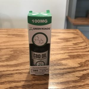 100mg CBD Oil SKU=083351767259