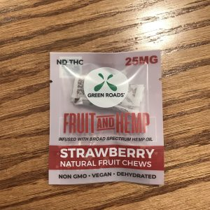 25mg Strawberry Chew SKU=752830982086