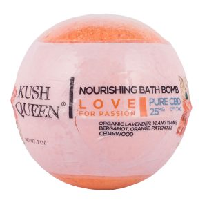 Kush Queen Love Nourishing Bath Bomb 25mg SKU=708744004185
