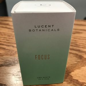 Lucent Botanicals Focus CBD Mints 400mg SKU 857265008056