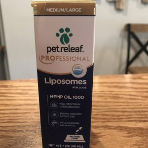 Liposomes for Dogs Hemp Oil 1000 SKU=861109000373
