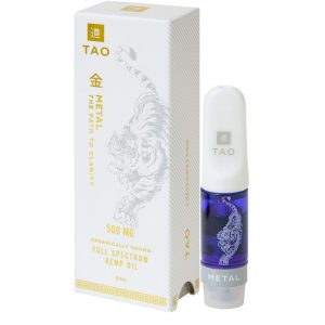 Tao Full Spectrum Hemp Oil Vape Cartridge Metal/GSC SKU=850001373012