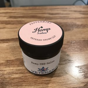 1oz CBD Salve Peppermint SKU=VGSP1