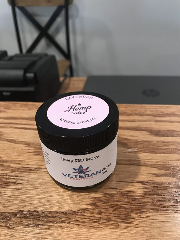 CBD Topical Salve – Lavender 2oz SKU=VGL2