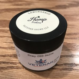 CBD Topical Salve – Lemongrass 2oz SKU=VGLG2