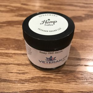 CBD Topical Salve – Spearmint 2oz SKU=VGS2