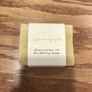 Hemp Soap Lemongrass SKU=VGLGS
